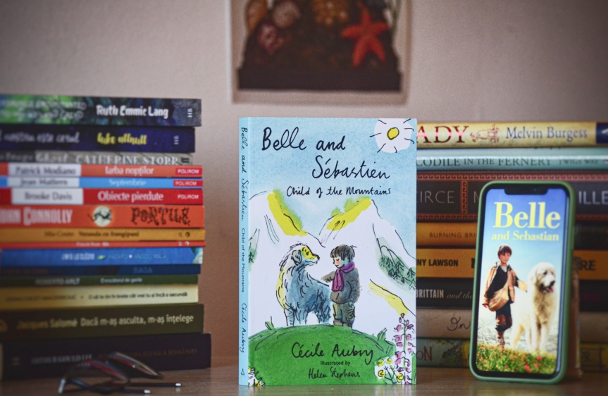 Belle and Sébastien: The Child of the Mountains by Cécile Aubry | BookReview