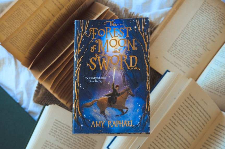 The Forest of Moon and Sword by Amy Raphael | BookReview