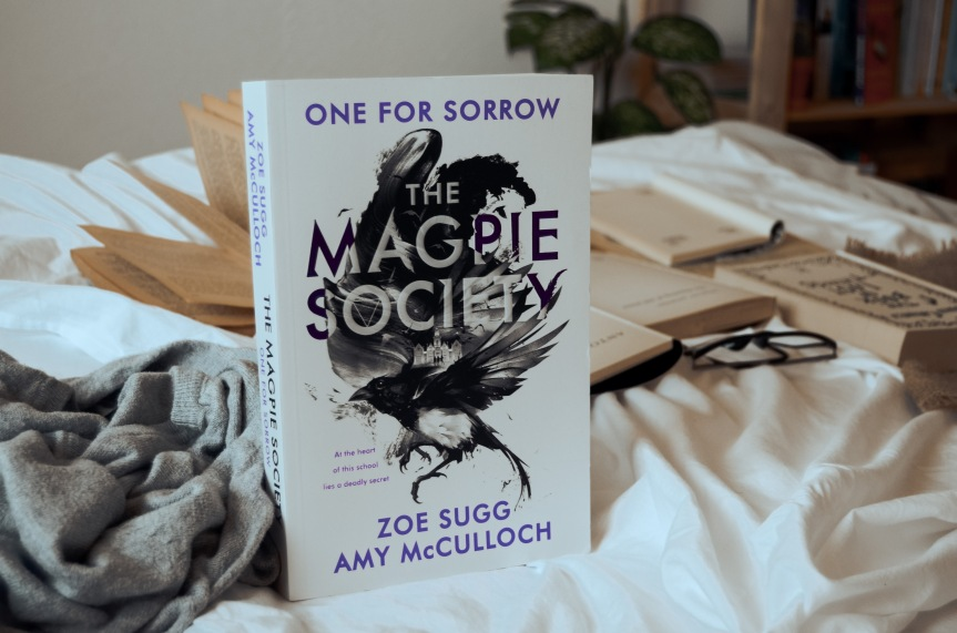 The Magpie Society: One for Sorrow by Zoe Sugg and Amy McCulloch | BookReview